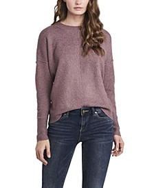 Women's Cozy Crew Neck Sweater