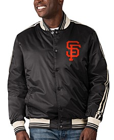 San Francisco Giants Men's Orginator Satin Jacket