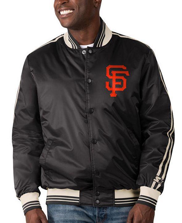 Starter San Francisco Giants Men's Orginator Satin Jacket