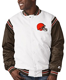Cleveland Browns Men's The Renegade Satin Jacket