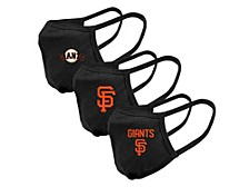 "Level Wear San Francisco Giants 3pack ""Guard 2"" Face Covering"