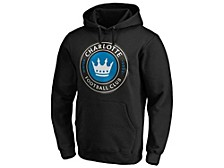 Authentic MLS Apparel Charlotte FC Men's Logo Hooded Sweatshirt