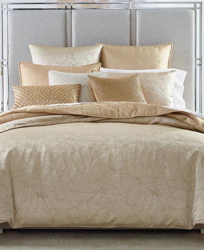 Hotel Collection - Leaflet King Duvet, Created for Macy's