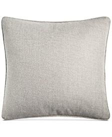 """Matilda Herringbone 20"""" Square Decorative Pillow"""