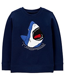 Carters Big  Boy Shark Fleece Pullover
