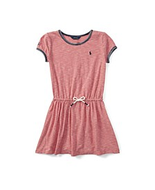 Big Girls Striped Jersey T-shirt Dress