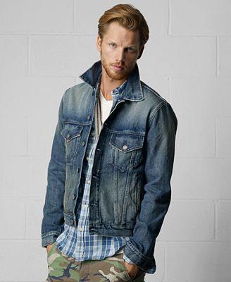 Denim &amp Supply Ralph Lauren Men&39s Denim Jacket - Men - Macy&39s