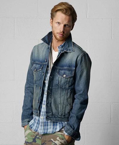 Denim & Supply Ralph Lauren Men's Denim Jacket - Men - Macy's