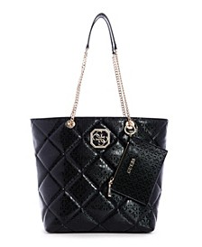 Dilla Quilted Logo Society Carryall
