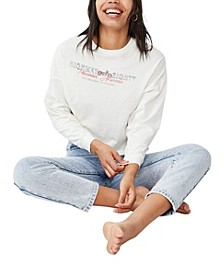 Women's Bree Graphic Long Sleeve T-Shirt