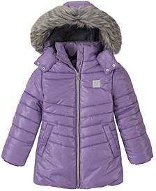 Toddler Girls Shimmer Puffer Jacket