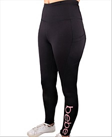 Plus Size Sport Women's Colorpop Logo Leggings (70% Off) --Comparable Value $59