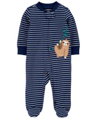Baby Boys Koala 2-Way Zip Cotton Sleep and Play One Piece
