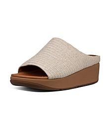 Women's Imogen Basket Weave Slides Sandal