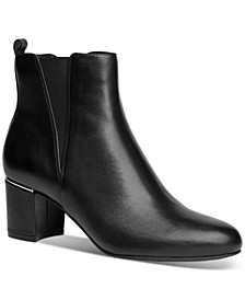 Zuri Block-Heel Booties, Created for Macy's