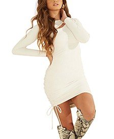 Meryl Asymmetrical Cutout Bodycon Dress