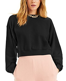 CULPOS X INC Cropped Sweatshirt, Created for Macy's