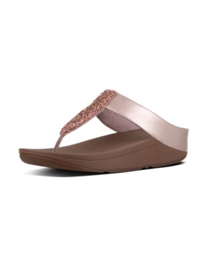 Fitflop FITFLOP WOMEN'S SPARKLIE CRYSTAL TOE POST SANDAL WOMEN'S SHOES