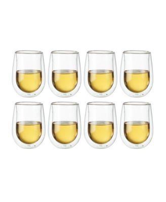 Zwilling Sorrento Stemless White Wine Glasses, Set of 8