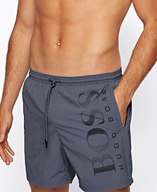 BOSS Men's Octopus Regular-Fit Swim Shorts
