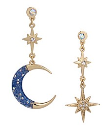 Celestial Mismatch Drop Earrings