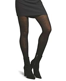 Women's Cashmere Flat Knit Sweater Tights Hosiery