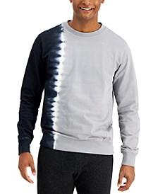 Men's Colorblocked Tie-Dyed Sweatshirt