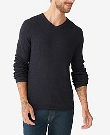 Men's Welterweight V-Neck Sweater