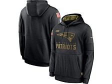 New England Patriots Youth Salute To Service Therma Hoodie