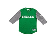 Men's Philadelphia Eagles Franchise Player Henley Shirt