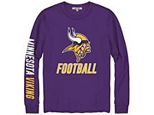 Minnesota Vikings Men's Zone Read Long Sleeve T-Shirt