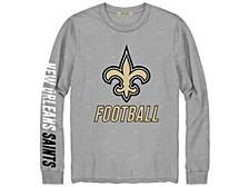 New Orleans Saints Men's Zone Read Long Sleeve T-Shirt