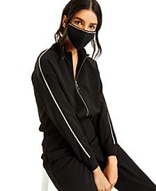CULPOS X INC Rhinestone-Border Face Mask, Created for Macy's