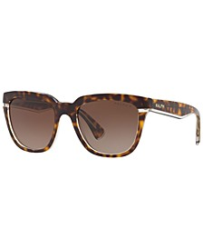 Ralph Women's Polarized Sunglasses, RA5237 53