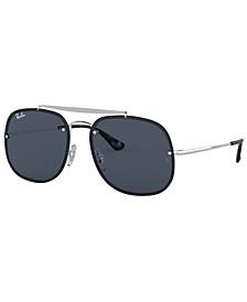 Unisex Blaze the General Sunglasses, RB3583N 58