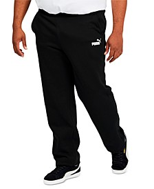 Big & Tall Men's Fleece Open Pants