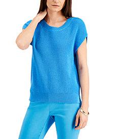 Alfani Cap-Sleeve Sweater, Created for Macy's
