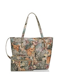 Brooke Melbourne Leather Tote