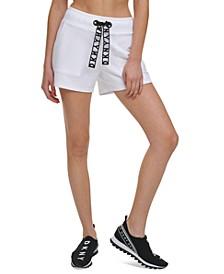 Sport Lace-Drawstring Shorts