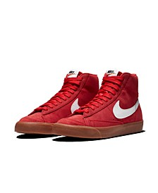 Men's Blazer Mid 77's Suede High Top Casual Sneakers from Finish Line