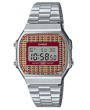 Unisex Digital Stainless Steel Bracelet Watch 36.3mm