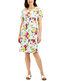 Reverie Floral-Print Dress, Created for Macy's