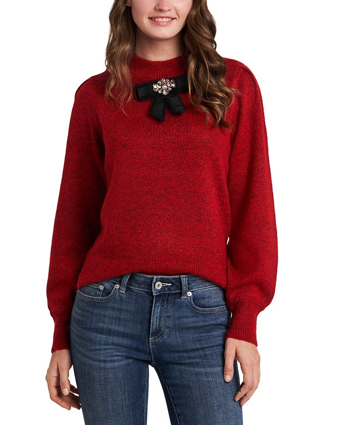 CeCe - Bow-Detail Sweater