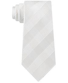Men's Linear Medium Check Tie