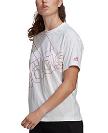 Women's Cotton Big-Logo T-Shirt