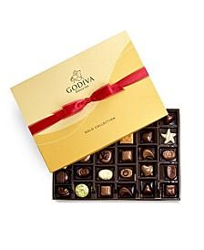 Valentine's Gold Gift Box, 36-Piece