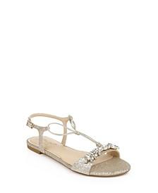 Women's Paulina Flat Evening Sandal
