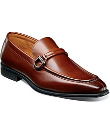 Men's Pernell Moc Toe Ornament Slip On Loafers
