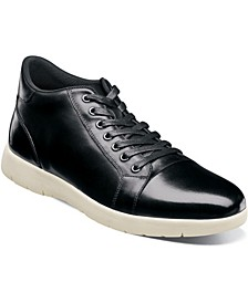 Men's Harlow Cap Toe Mid Lace Up Boot
