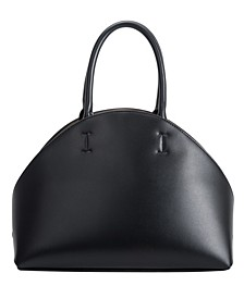 Austen Large Vegan Leather Shoulder Bag
